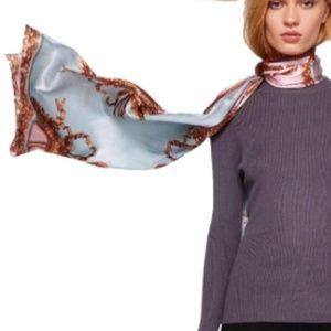 Ted Baker Pure Silk Versailles Metallic Cape Scarf